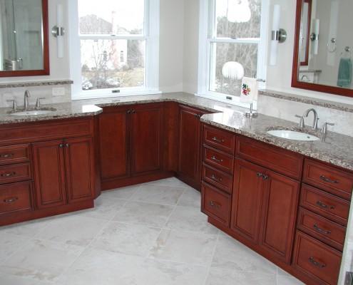 Bathroom Remodel: Dry Ledge
