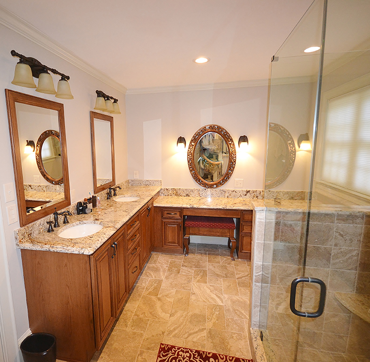 Chester County Kitchen And Bath Bathroom Remodel West Chester