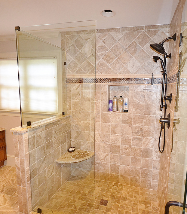 Westchester Master Bath: Chester County Kitchen And Bath Bathroom Remodel West Chester
