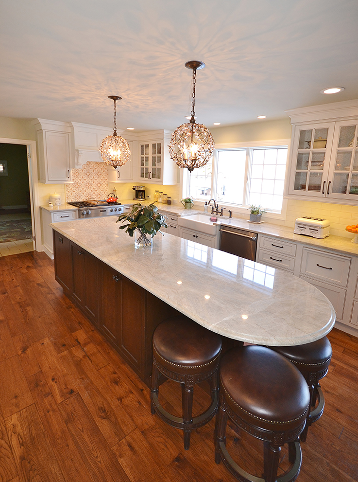 Amazing White Kitchen Remodel