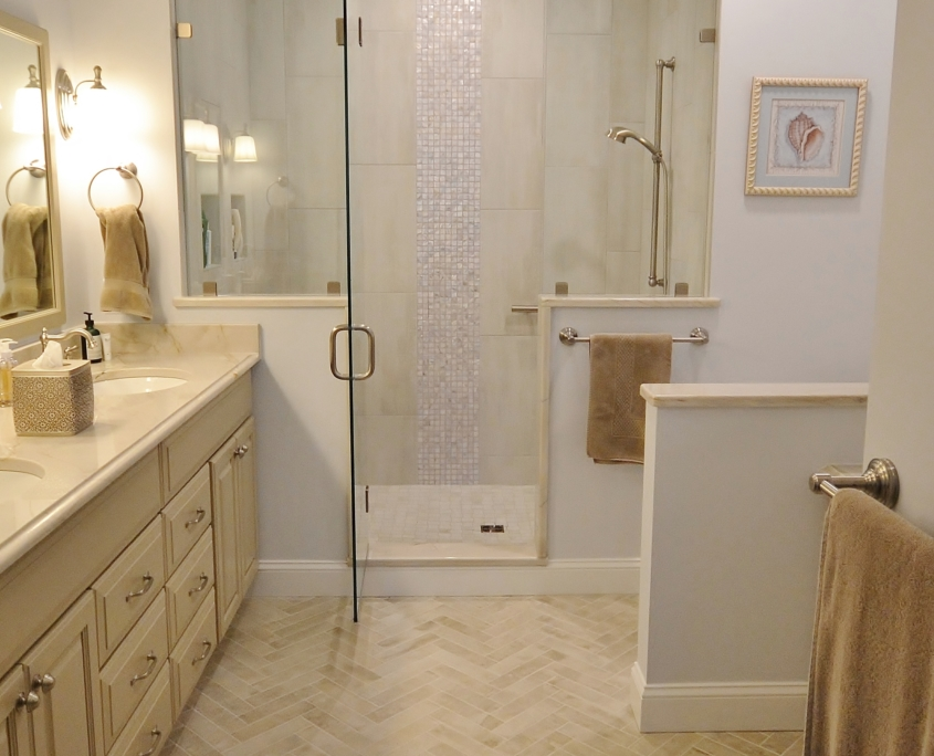 Chester County Kitchen and Bath Bathroom Remodel in Wilmington, PA