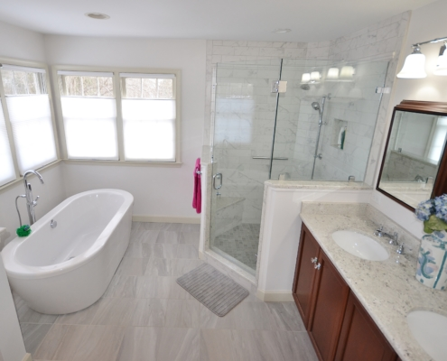 Malvern Master Bathroom with Neo-Angle Shower